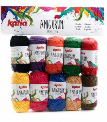 Amigurumi from Katia:  Sets of 10 Skeins