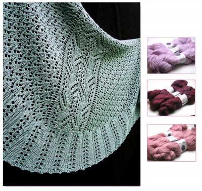 Kimani Shawl/ Kits: 3 Color Choices