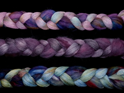 Kindred Spirits Braid - 3 Colorways + Pattern Suggestion