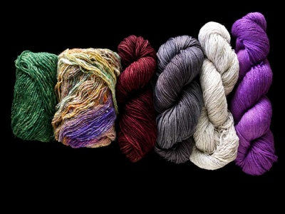 The yarns in our kit, as described here.