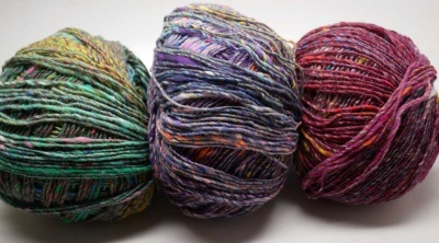 Noro Kotori:  3 Colorway Choices