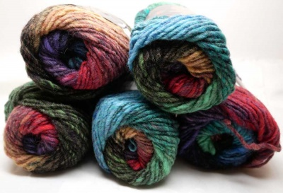 #92: We show many skeins so you can get a better idea of the full range of colors.