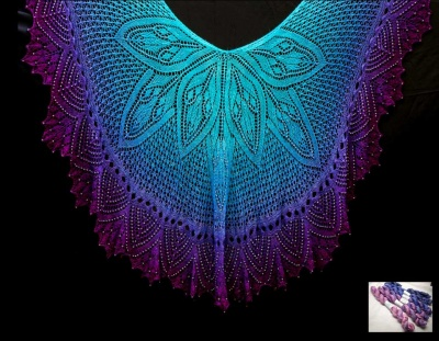 Pre-Orders: Kyra: The Friendship Shawl/ Beaded Kits