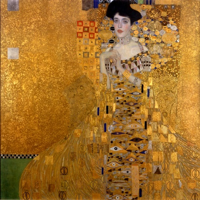 The painting by Klimt that was the original inspiration.