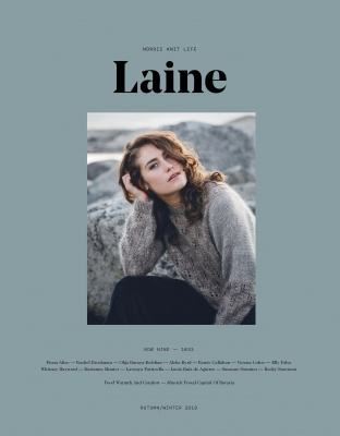 Laine:  Issue 9 - Books + Magazines