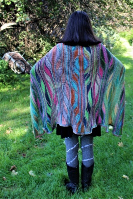Le Roy Cape : Kits in Cotton