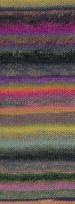A swatch knit in Louisiana