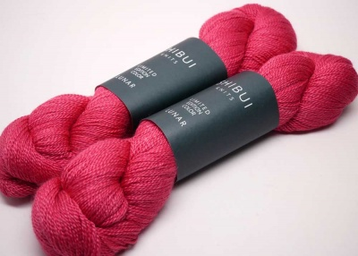 Petal colorway in Lunar yarn from Shibui (each kit will have one skein).