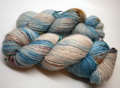 Orphan Skeins:Tosh Merino Light:  Night in Chile -