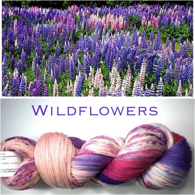 ArtYarns Inspiration Club: May:Wildflowers