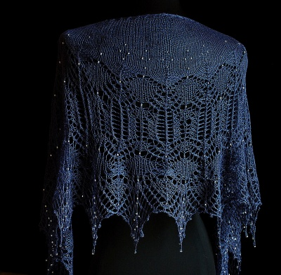 And a beautiful version as knit by Mindy Ross (aka Stromyk9 on Ravelry).