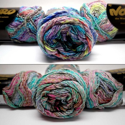 Mirai from Noro: 2 Colorways