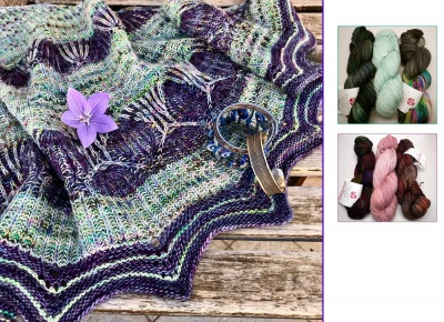 Murrina Shawl: Kits + Bead Option