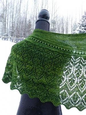 Newfoundland Shawl Pattern Bead Gift Earthfaire