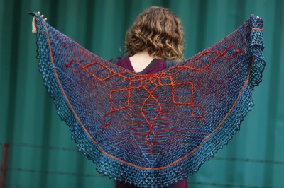 Nim's original shawl