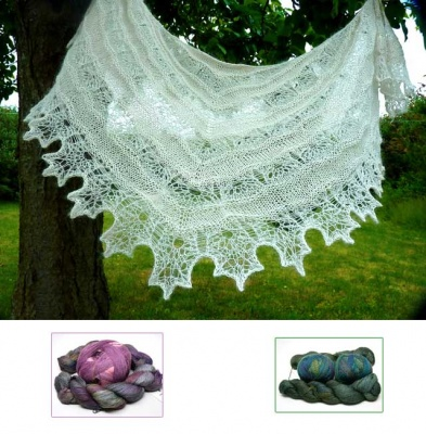 Oceana Shawl/ Beaded Kits - Kits