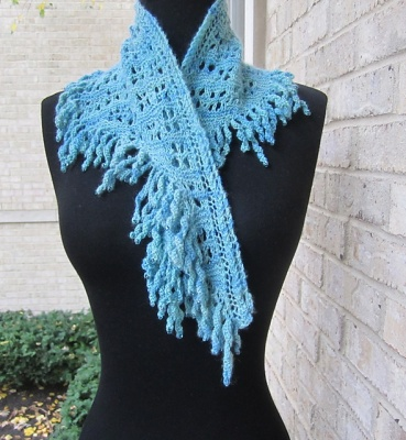 Oh Delilah/ A Beaded Shawlette Pattern by She-Knits - Shawls/Stoles