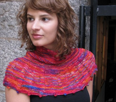 On the Town Pattern / one of The City Collection by Ilga Leja - Scarves and Cowls