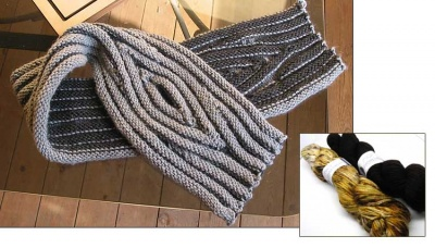 Organix Cowl or Scarf/ Kits in Shepherd Worsted