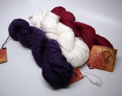 Orphan Skeins:  Nuna Fina - Lace weight