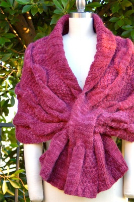 Oscillation Wrap/ Pattern by Pam Powers - Shawls/Stoles