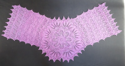 One of Anne-Lise's original pieces, this one is in Lilac.