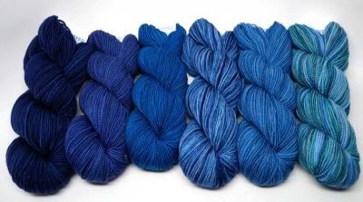 Merino Mia Six-Pack:  Blue Moon