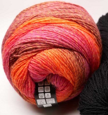 Orphan Skeins: Gomitolo Versione: Pumpkin-Strawberry Patch