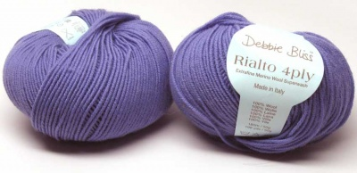 Rialto 4-Ply/ from Debbie Bliss/ Iris -