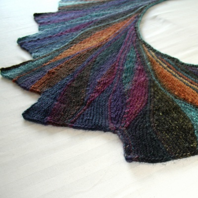 The original Rigoles, as knit by Maylin
