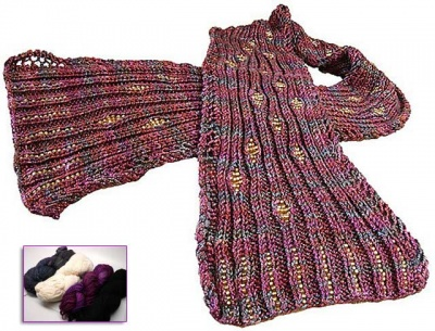 River Rock Scarf:  Beaded Kits - Kits
