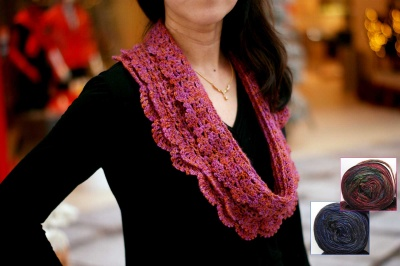 Road to Yesterday:  Beaded Crochet Cowl Kit