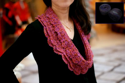 Road to Yesterday:  Beaded Crochet Cowl Kit - Kits (all)