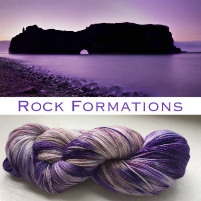 ArtYarns Inspiration Club: July: Rock Formations - Fingering/Sock weight