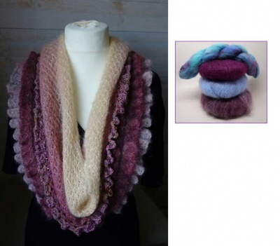 Romantic Scarf: Beaded Kits