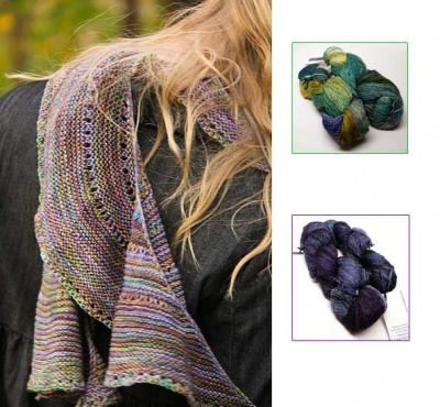 Rondelay/ Kits in Malabrigo Mechita