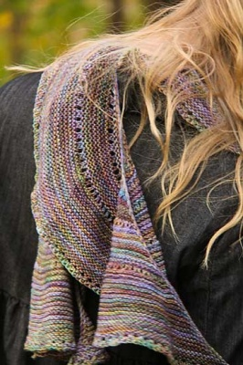Rondelay Scarf/ Pattern by Jennifer Dassau - Scarves and Cowls