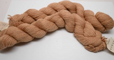 Orphan Skeins:  Rowan California Cotton: Fox Fibre: Honey -