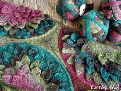 For Scarf Water Lily:  Zauberball One-At-A-Time - Kits