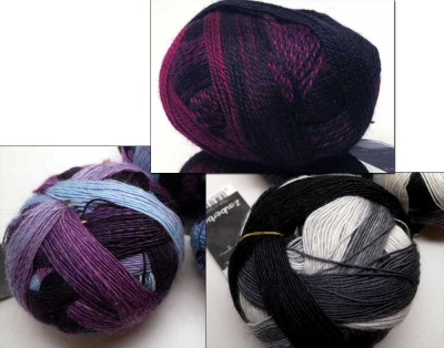 Orphan Skeins: Varying Zauberballs