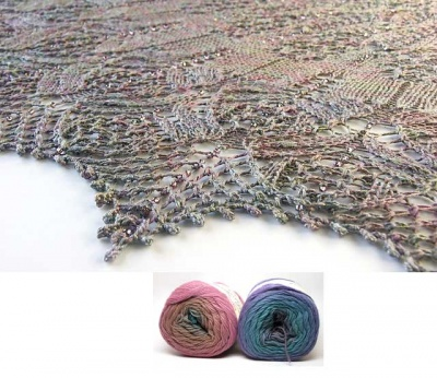 Serendipity Lace Shawl/ Bead Kits