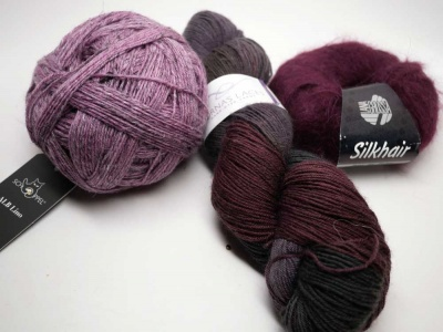Sets! A Trio of Berries - Fingering/Sock weight