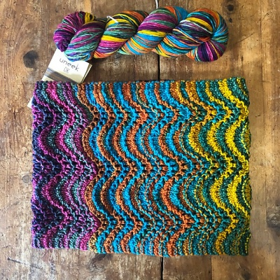 The Show Off Chevron Cowl