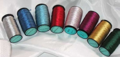Silk Serica/ 50m Spools - Threads and Wire