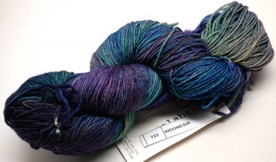 Orphan Skeins: Indonesia in Sock from Malabrigo - Kits