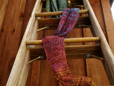 As knit in our Harvest Moon colors, by Mary Scott.