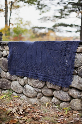 Spire/ Pattern/ by Leila Raabe for Brooklyn Tweed - Shawls/Stoles
