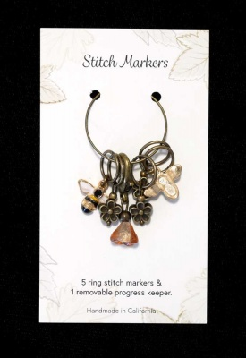 Bee and Bloom Stitch Markers - Wonderful Extras