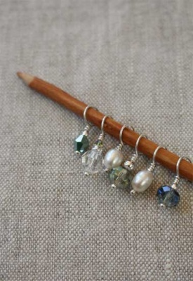 Mini Stitch Markers:  Set of 6 - Wonderful Extras