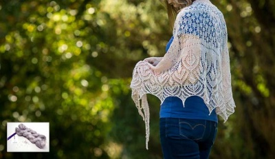 Summer Petals/ Beaded Shawl Kits/ Bead Option